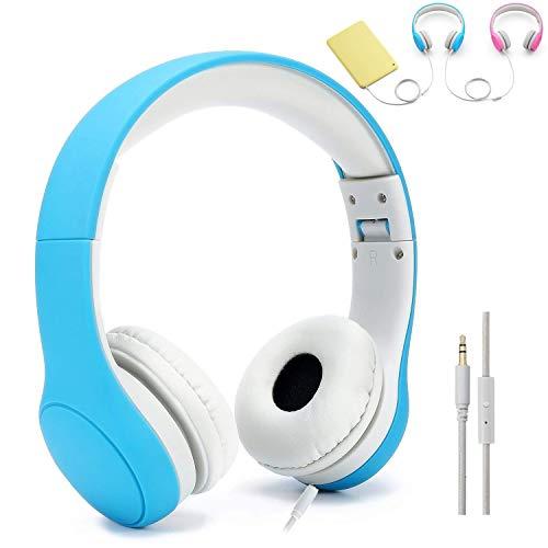 Getlink Kopfhörer für Kinder mit Lautstärke Begrenzung Gehörschutz & Musik-Sharing-Funktion,...