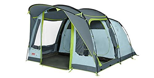 Coleman Zelt Meadowood 4, Camping-Zelt 4 Personen, großes Familienzelt mit 2 extra großen verdunkelten...
