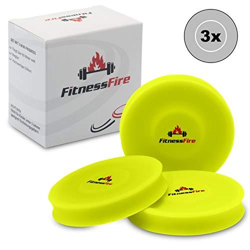 3er Set Mini Frisbee - Die kleine Frisbeescheibe fliegt über 60 Meter weit - Die neue Trendsportart -...