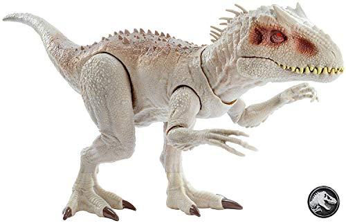 Jurassic World GCT95 - Dinosaurier Spielzeug Fressender Kampfaction Indominus Rex mit Lichtern und...