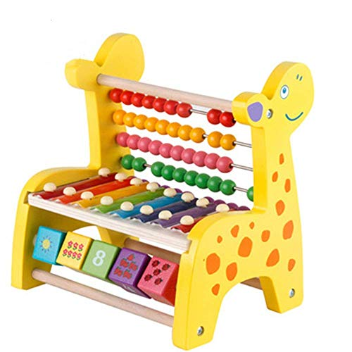 Kyman Kinder-Xylophon aus Holz für Kinder, ideal für Kinder, Babys, Kleinkinder, für Ihre Kinder...