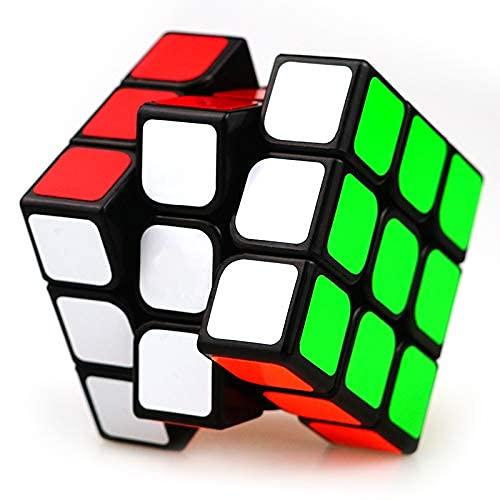 XMD Zauberwürfel Magic Cube 3x3x3 Professionelle Puzzle Cube Brain Teaser Spielzeug für Kinder...