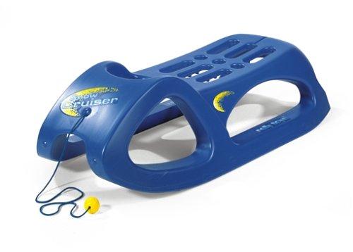 Rolly Toys 200290 - rollySnow Cruiser Kinderschlitten (Alter ab 3 Jahre, Stahlschienen,...