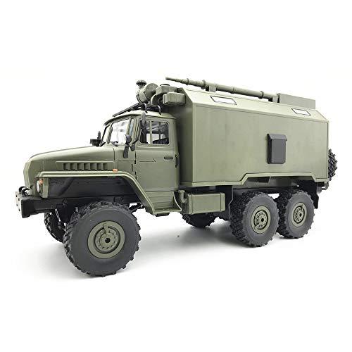 Transer WPL B36 Ural 1/16 RTR 2.4G 6WD RC Auto Elektro-Off-Road-Militär-LKW-Auto Crawler Für Kinder und...