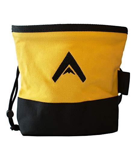 Atacama Chalk Bag | robuster Magnesiumbeutel z. Bouldern u. Klettern | Kalktasche f. Crossfit | großer...