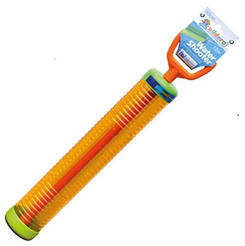 alldoro 60111 Water Shooter, Wasserspritze ca. 45 cm lang, schießt bis zu 12 m weit, Orange