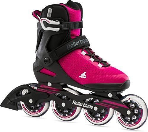 Rollerblade Spark 90 W Inline Skate 2021 Raspberry/Black, 40