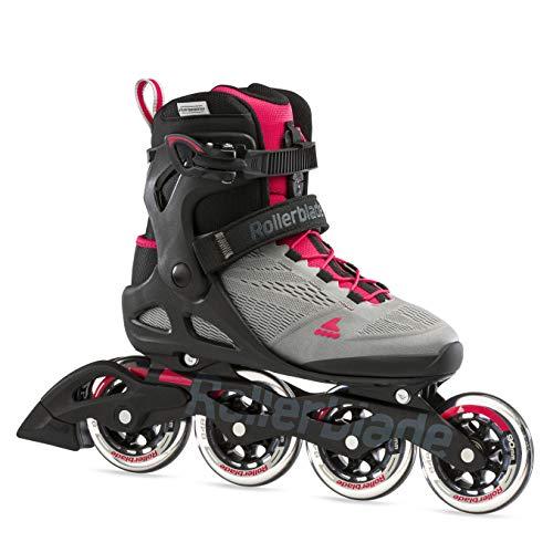 Rollerblade Damen MACROBLADE 90 W Inline-Skate, NEUTRUM GRAU/Paradies ROSA, 270