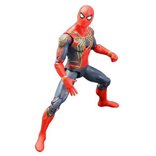 Marvel und DIY Handarbeit Spielzeug Avengers Spielzeug - 16CM Marvel Avengers 3 Superheld Spider-Man...