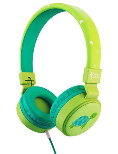 Planet Buddies Kinder kopfhörer, Lautstärkesichere Faltbare kabelgebundene Ohrhörer, On-Ear-Kopfhörer...