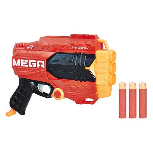 Hasbro Nerf E0103EU4 Mega Tri Break, Spielzeugblaster