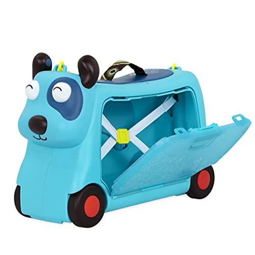 B. toys Kinder Handgepäck Koffer Hund – Reisekoffer, Kinderkoffer mit Lichtern und Tönen zum Rollen,...