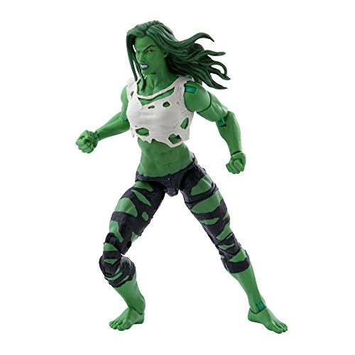 Hasbro Marvel Legends Series Avengers 15 cm große She-Hulk Figur und 3 Accessoires für Kinder ab 4...