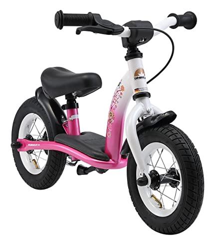 BIKESTAR Kinder Laufrad Lauflernrad Kinderrad für Mädchen ab 2 - 3 Jahre   10 Zoll Classic...