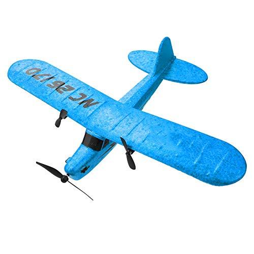 Caredy RC Flugzeug Fernbedienung FX-803 2.4GHz Elektro Starrflügel Flugzeug Segelflugzeug flugfertig RC...