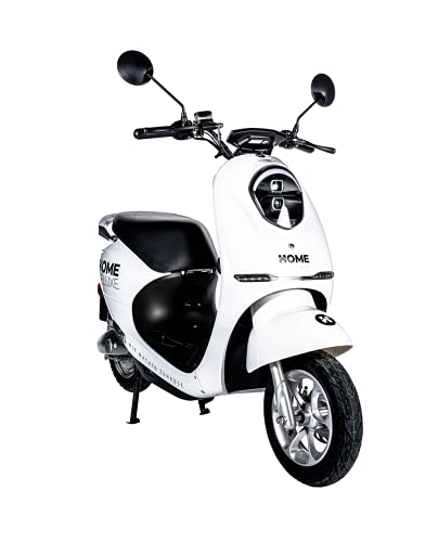 Home Deluxe - E-Roller Lorenzo - Farbe: weiß - inkl. Zulassung 45 km/h | E Scooter, Elektro Roller,...