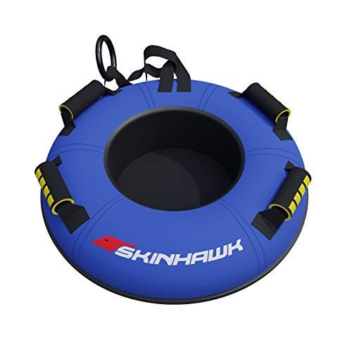 SKINHAWK Profi Snow Tube Ø70cm blau Schlitten Bob Rodel Reifen Schneereifen Rutschreifen