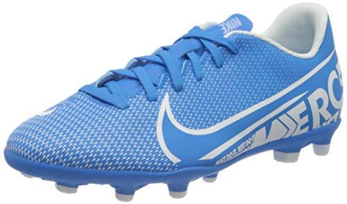 Nike Unisex Vapor 13 Club Fg/Mg Fußballschuhe, Mehrfarbig (Blue Hero/White/Obsidian 414), 38.5 EU