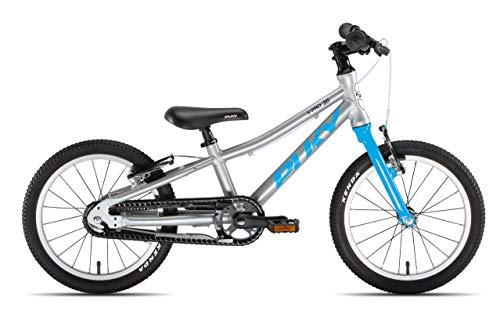 Puky LS Pro 16-1 Alu Kinder Fahrrad silberfarben/blau