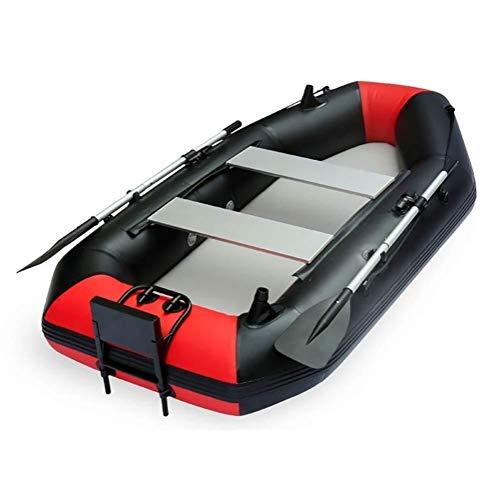 GUOE-YKGM Kayak Faltkajak - Aufblasbares 2-Personen-Kajakset Mit Schlauchboot, Zwei Aluminiumrudern Und...