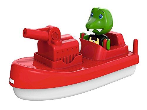 AquaPlay 8700000262 - FireBoat - Zubehör für AquaPlay Wasserbahnen oder für die Badewanne, Feuerwehr...