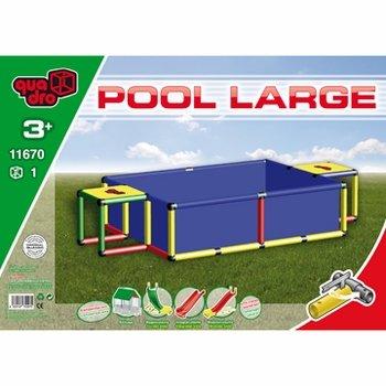 Quadro Pool L Schwimmbad, blau, 245?x?125?x?45cm