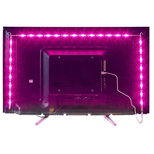 Led TV Hintergrundbeleuchtung,2M USB Led Beleuchtung Hintergrundbeleuchtung Fernseher USB für 40 bis 60...