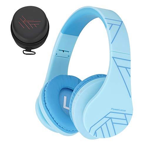 Kinder Kopfhörer, PowerLocus KinderKopfhörer Bluetooth mit 85dB Lautstärkebegrenzung, Faltbar mit...