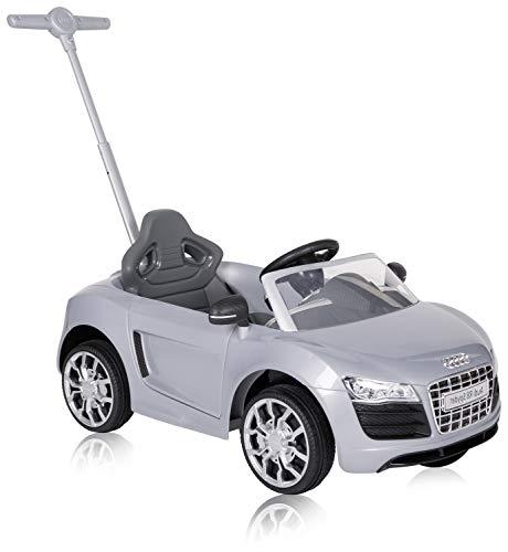 ROLLPLAY 44353 Push Car mit ausziehbarer Fußstütze, Für Kinder ab 1 Jahr, Bis max. 20 kg, Audi R8...