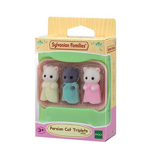 Sylvanian Families 5458 Perserkatzen Drillinge - Figuren für Puppenhaus