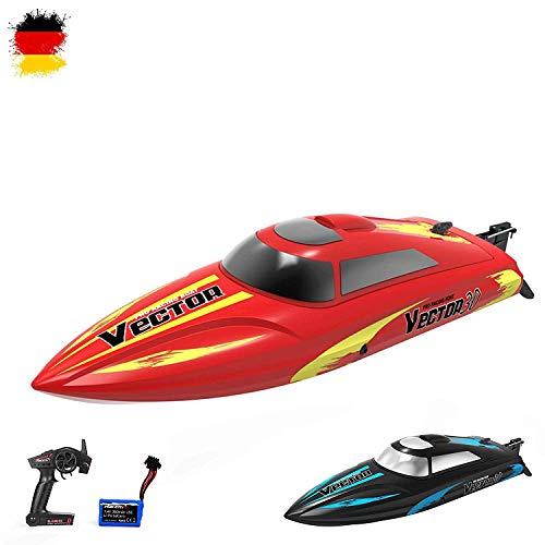 HSP Himoto 2,4GHz RC ferngesteuertes Speedboot Racingboat Katamaran HighSpeed-Modell mit Power Motor und...