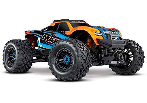 Traxxas Maxx TSM SR Orange Brushless RC Modellauto Elektro Monstertruck Allradantrieb (4WD) RTR 2,4 GHz