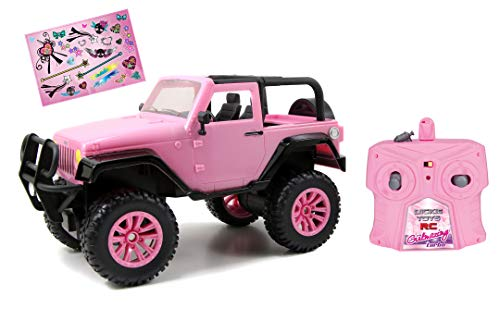 Dickie Toys RC Jeep Wrangler, RC SUV Girlmazing, Ferngesteuertes Auto, RC Auto, Spielzeugauto mit...