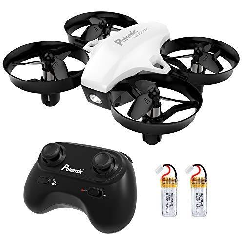 Potensic Mini Drohne mit 2 Akkus für Kinder und Anfänger, RC Quadrocopter, Mini Drone mit...