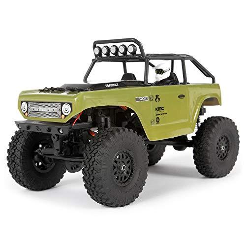 Axial 1/24 SCX24 Deadbolt 4WD Rock Crawler gebürstet RTR, Grün, AXI90081T2
