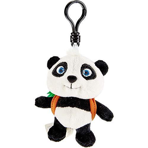 Käthe Kruse 0178285 Panda Xiung mit Rucksack, weiß, schwarz