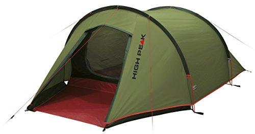 High Peak Leichtgewicht Zelt Kite 2, Campingzelt mit Vorbau, Trekkingzelt für 2 Personen, Tunnelzelt nur...
