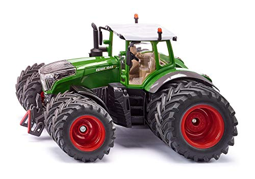 SIKU 3289, Fendt 1042 Vario Traktor, 1:32, Metall/Kunststoff, Grün, Abnehmbare Fahrerkabine, Front- und...