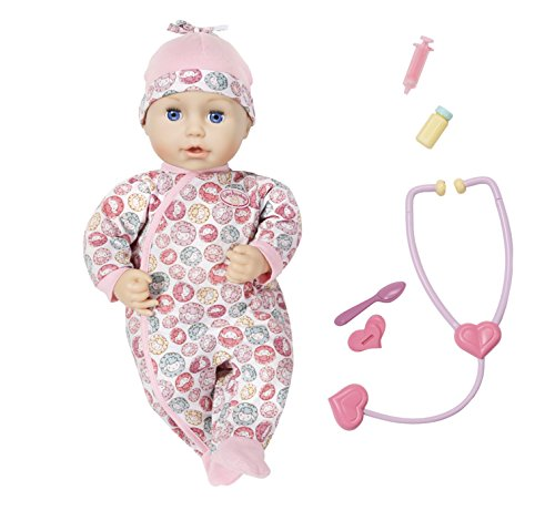 Baby Annabell 701294 Milly Feels Better Puppe, bunt
