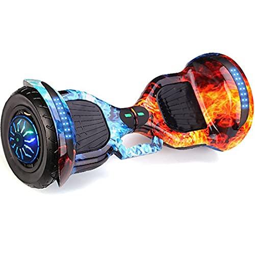 Retoo Hoverboard mit LED Licht und Bluetooth, Self Balance Hover Scooter Board mit Eingebaute...