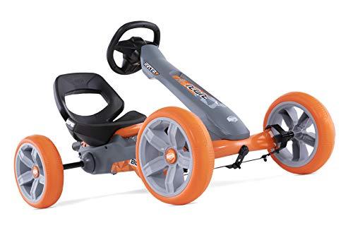 BERG Gokart Reppy Racer | KinderFahrzeug, Tretauto mit Optimale Sicherheid, Soundbox im Lenkrad,...
