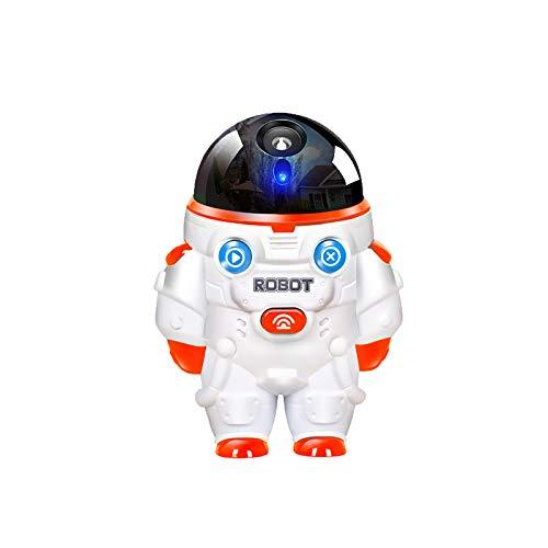 Zilosconcy Seifenblasenmaschine Kinder Spielzeug Musiklichtblasen Roboter mit Konzentrierter...