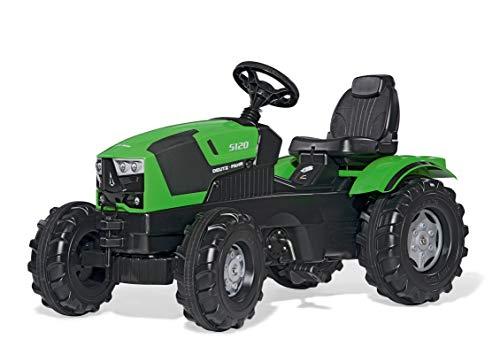 Rolly Toys rollyFarmtrac Deutz-Fahr 5120 (für Kinder im Alter von 3 – 8 Jahre, Sitz verstellbar,...
