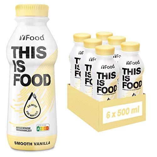 YFood Astronautennahrung Vanille | Laktose- und glutenfreier Nahrungsersatz | 34g Protein, 26 Vitamine...