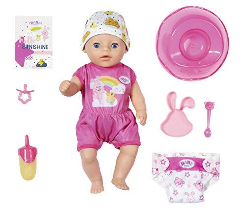 Zapf Creation 827789 BABY born Soft Touch Little Girl Puppe mit lebensechten Funktionen und Zubehör,...