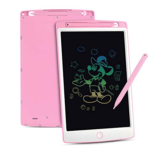 Upgrow LCD Writing Tablet, 10 Zoll LCD-Schreibtafeln mit Bunter Schrift, Grafiktabletts Schreibplatte...