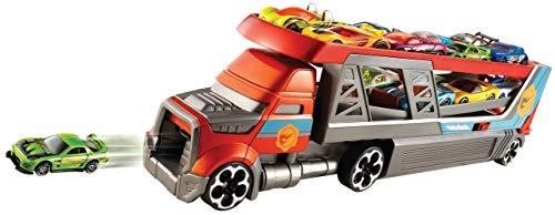 Hot Wheels - Blasting Rig Transporter mit Platz für 14 Autos