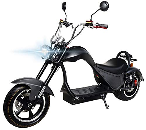 eFlux Chopper One Elektroroller Scooter - 2000 Watt Motor - Straßenzulassung - Bis zu 45 km/h -...