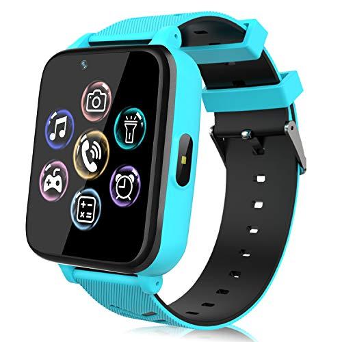Smartwatch für Kinder, Uhr Telefon für Mädchen Jungen Touchscreen mit Musik Player, Spiel, Kamera,...