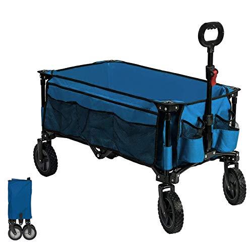 Timber Ridge Bollerwagen faltbar Handwagen Faltwagen Transportwagen Strandwagen Gartenwagen für alle...